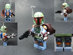 Ultimate Boba Fett (billbobful) Tags: star lego ultimate hunter boba wars bounty fett