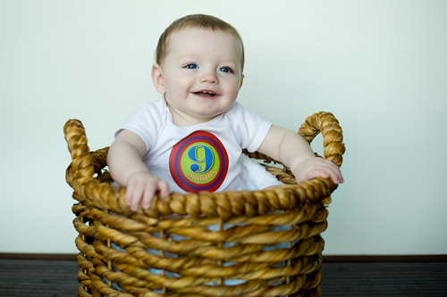 Noah's 9 Month Photoshoot 8