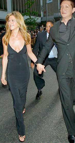 Jonal Chong and Jennifer Aniston