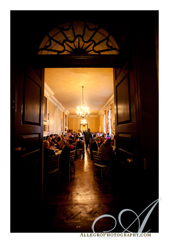 crane-estate-castle-hill-wedding-real-mm- dining in the great house main hall reception in ipswich mass