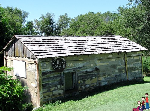The Higley Cabin; Home on the Range; Kansas