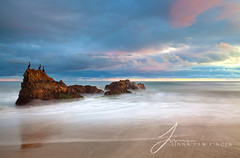 I Believe This Is Heaven (Jinna van Ringen) Tags: california longexposure sunset sea usa beach