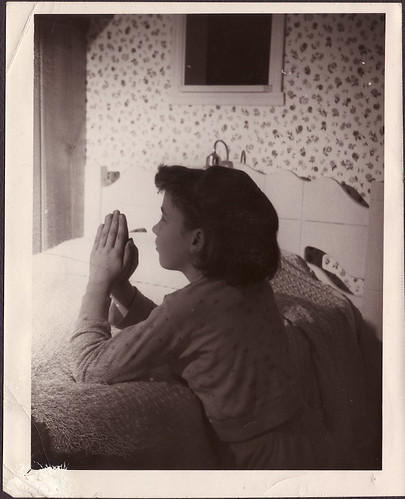 Darlene praying