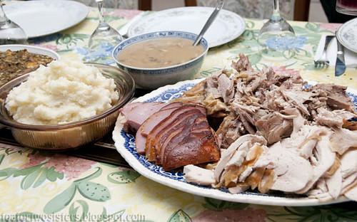 Christmas Dinner 2009 -</p><p>2