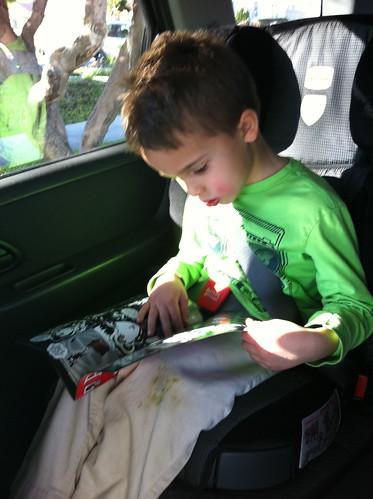 Ezra reading