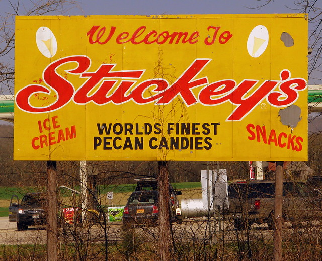 Old Stuckey's Billboard