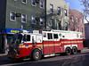 (Laser Burners) Tags: cameraphone nyc newyorkcity brooklyn firetruck bodega fdny citynoise company1 hazardousmaterials municipalvehicles