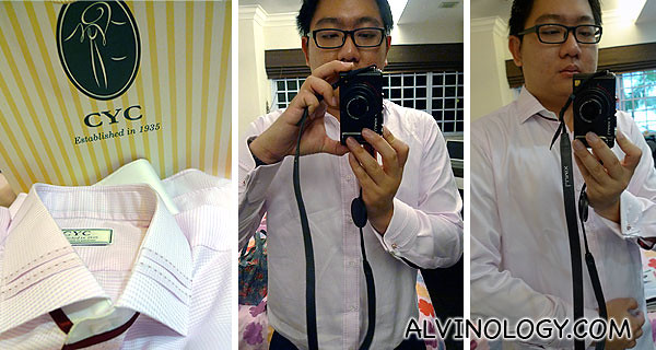 Me and my new CYC Alvinology shirt!