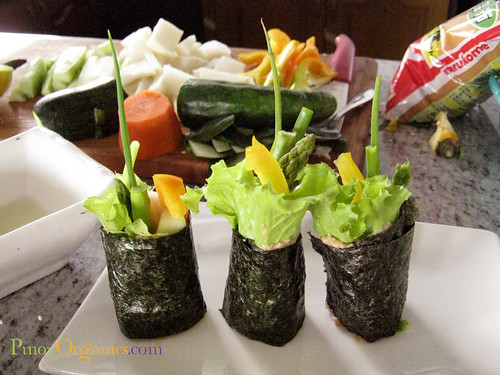 RawFood-veggie sushi