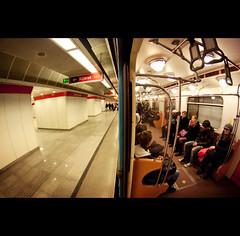 Day Thirteen (ODPictures Art Studio LTD - Hungary) Tags: people hungary angle metro budapest tube wide fisheye publictransport 8mm ultra tér blaha samyang lujza orbandomonkoshu