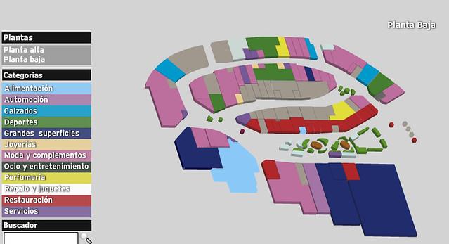 Mapa Las terrazas