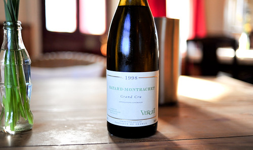 Verget Batard-Montrachet, Grand Cru, 1998