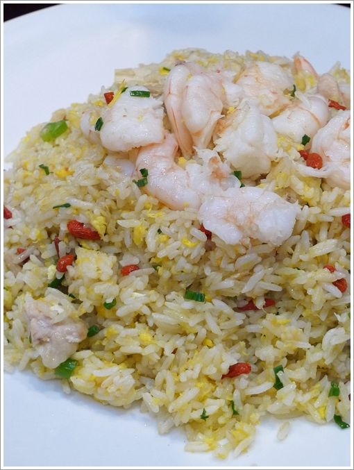 Imperial Fried Rice with Shrimps