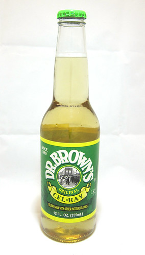 Weird Soda: Dr. Brown's, Cel-Ray Tonic
