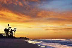 T-Street Morning Surf (Didenze) Tags: ocean sky beach clouds sunrise surfer explore sanclemente frontpage tstreet canon450d didenze