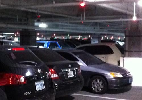 Self-Park garage