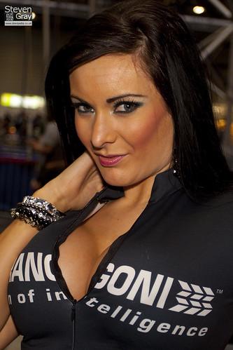 People - Jen Morgan - Marangoni - Autosport Show 2011 - Birmingham NEC - 110116 - - 5365931817_69574462f3