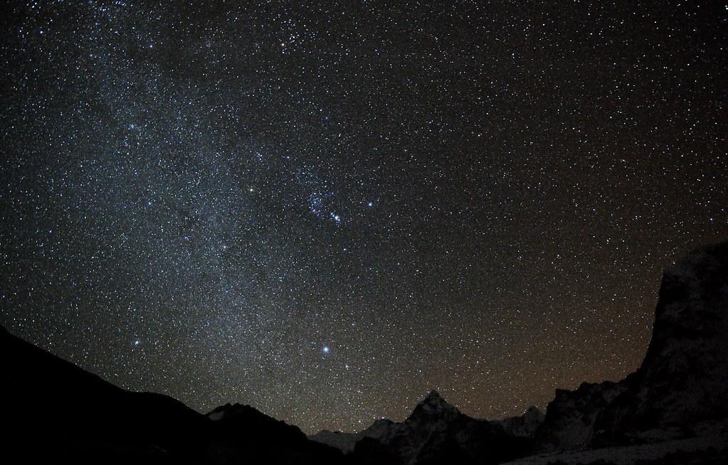 Milky Way over Himalaya
