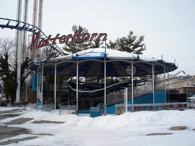 Cedar Point - Off-Season Matterhorn