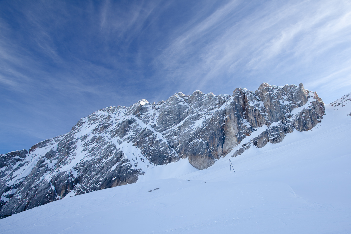 View from Piste from Marmolada