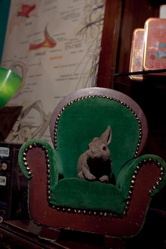 tiny chair and velveteen rabbit