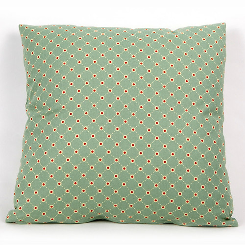 Cushion Cover Early Bird Dot Teal by Andover