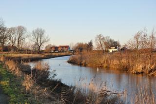Op een mooie winterdag - Sunny winter day in Holland