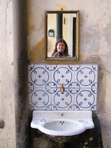 Self-Portrait at Pasaje de la Defensa, San Telmo, Buenos Aires by katiemetz, on Flickr