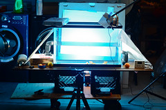 "Setup for ""Lemon Drop"" and ""The Wave"" photos (morozgrafix) Tags: setup nikon50mmf18d strobist nikond7000 diypfav"