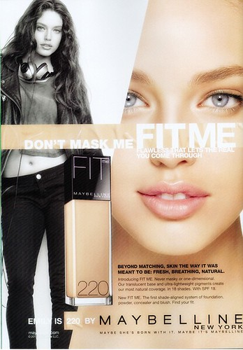 Maybelline Fit-Me Ad