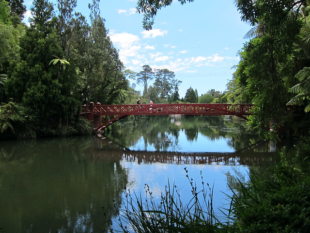 Pukekura Park in New Plymouth