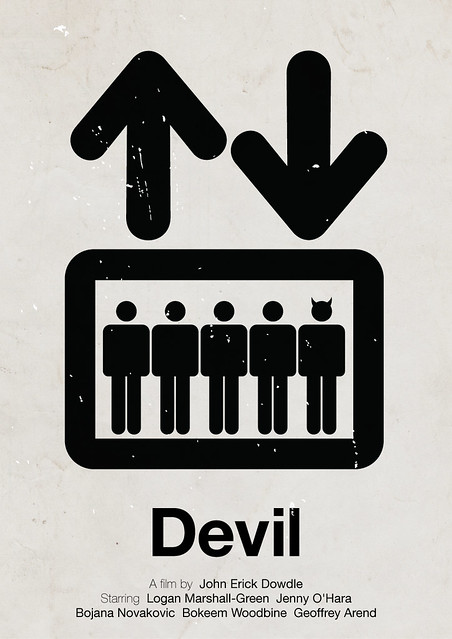 'Devil' pictogram movie poster