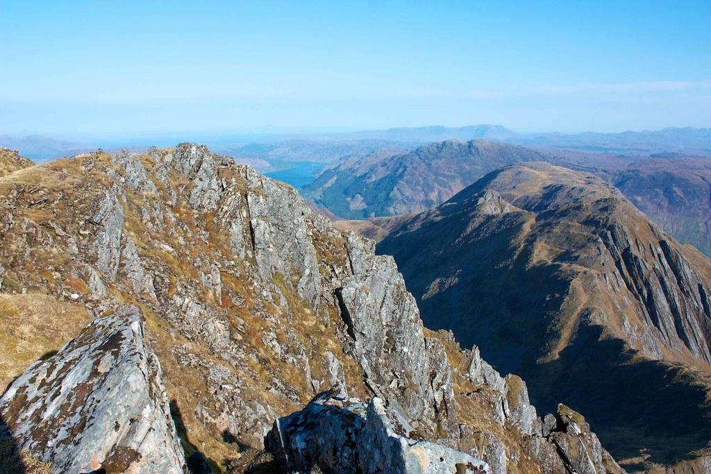 Crags on Sgurr Fhuaran