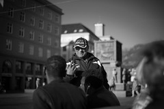 No cigarette for you (kibsky) Tags: cigarettte bergen norway filipino pinoy bw