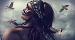 Somewhere After Midnight... In My Wildest Fantasy! ... by Niani (xxnianixx) Tags: shinyshabby mina meva niani digitalart fantasy hair accessoire secondlife sl portrait