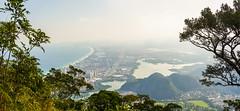DSC_4087_PAN (sergeysemendyaev) Tags: 2016 rio riodejaneiro brazil    pedradagavea mountain hiking trilha carrasqueira        ocean panorama panoramicview   landscape scenery r