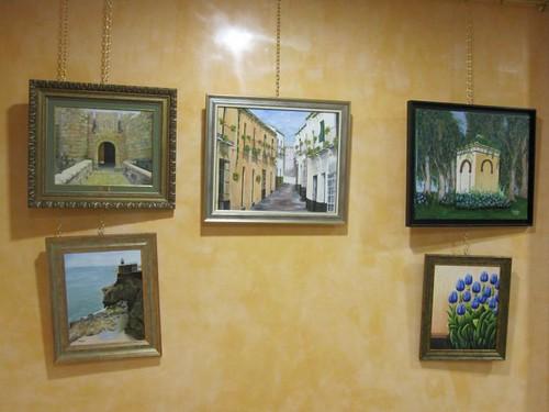 Exposición de pintura en la Casa de Melilla en Málaga