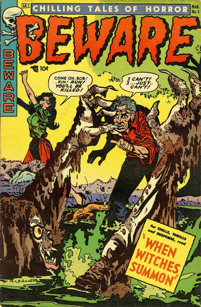 Beware #8 (Trojan, 1954)