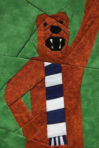 Mascot closeup