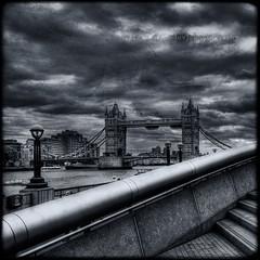 Tower Bridge Blues (s a s h i) Tags: uk london towerbridge textures hdr splittoning magicunicornverybest selectbestexcellence magicunicornmasterpiece sbfmasterpiece alexarnaoudov magiayfotografia