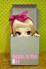 Apple in the box ( Ale K ) Tags: china cute cake japan candy sweet dal chips korean lolita planning wig kawaii groove pullip rement inc jun frara obitsu taeyang