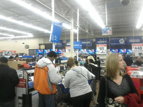Black Friday Mayhem At Walmart. 7AM.