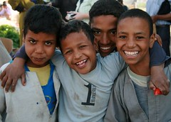 Egypt children (savin.photographs) Tags: smile kids youth children fun happy market group egypt luxor
