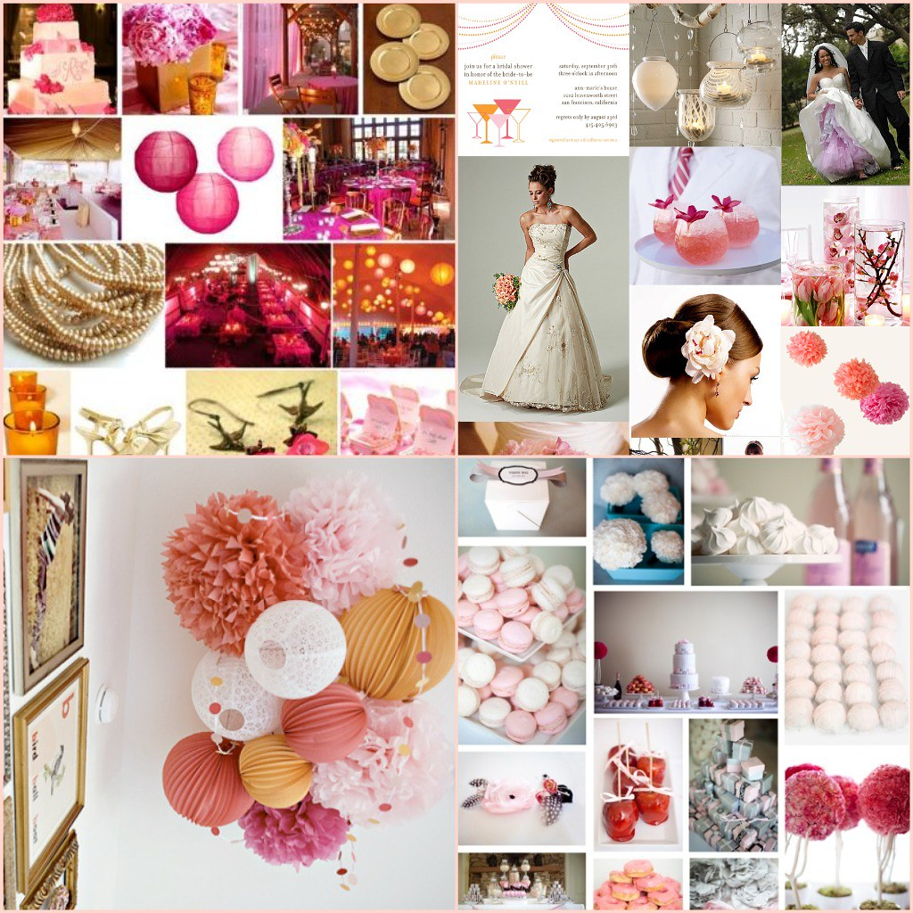 the wedding: decoration inspiration