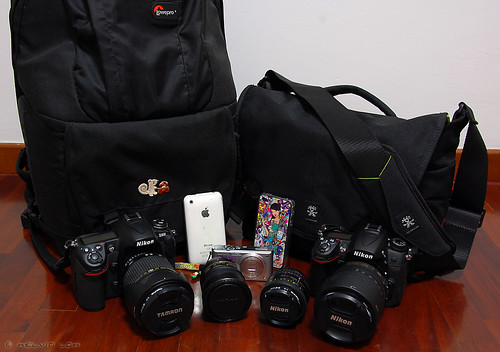 Our photo gear for holiday!