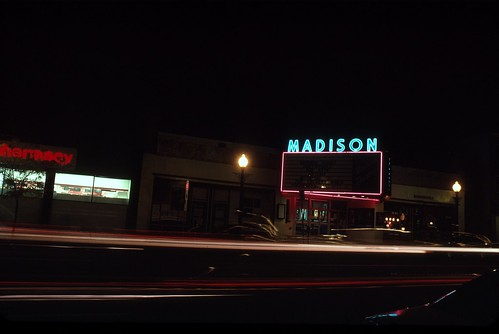 Kodachrome 25 Evening Shots: Madison Theater, Albany, N.Y.