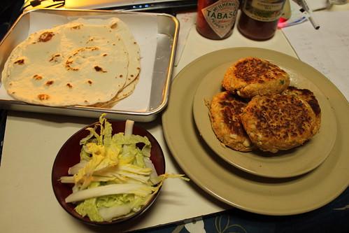 Falafel Burgers Round 2