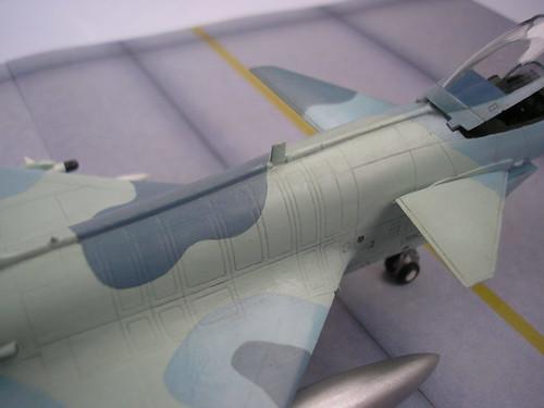 Un géant vert redoutable [Vought F-8 P Crusader Academy 1/72] 5214474968_c9fc510373