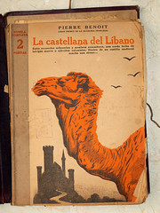 """""""La castellana del Líbano"""". Sin firma, posible portada de Manolo Prieto (obaku estudio) Tags: 1940 ilustración manoloprieto diseñográficoantiguo"""