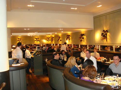 Vista general del restaurante